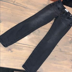 Women's FRAME denim black skinny jeans